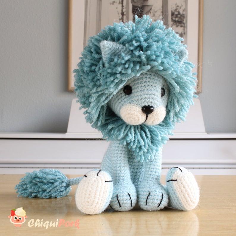 Amigurumi Lion Crochet Free Patterns