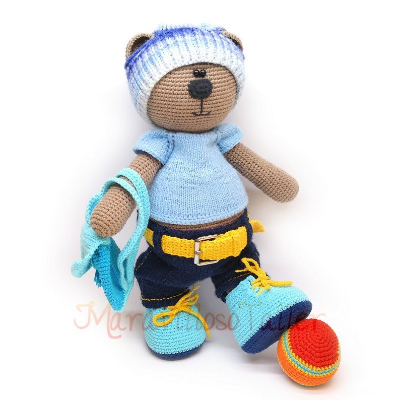 Free Amigurumi Teddy Bear Crochet Patterns