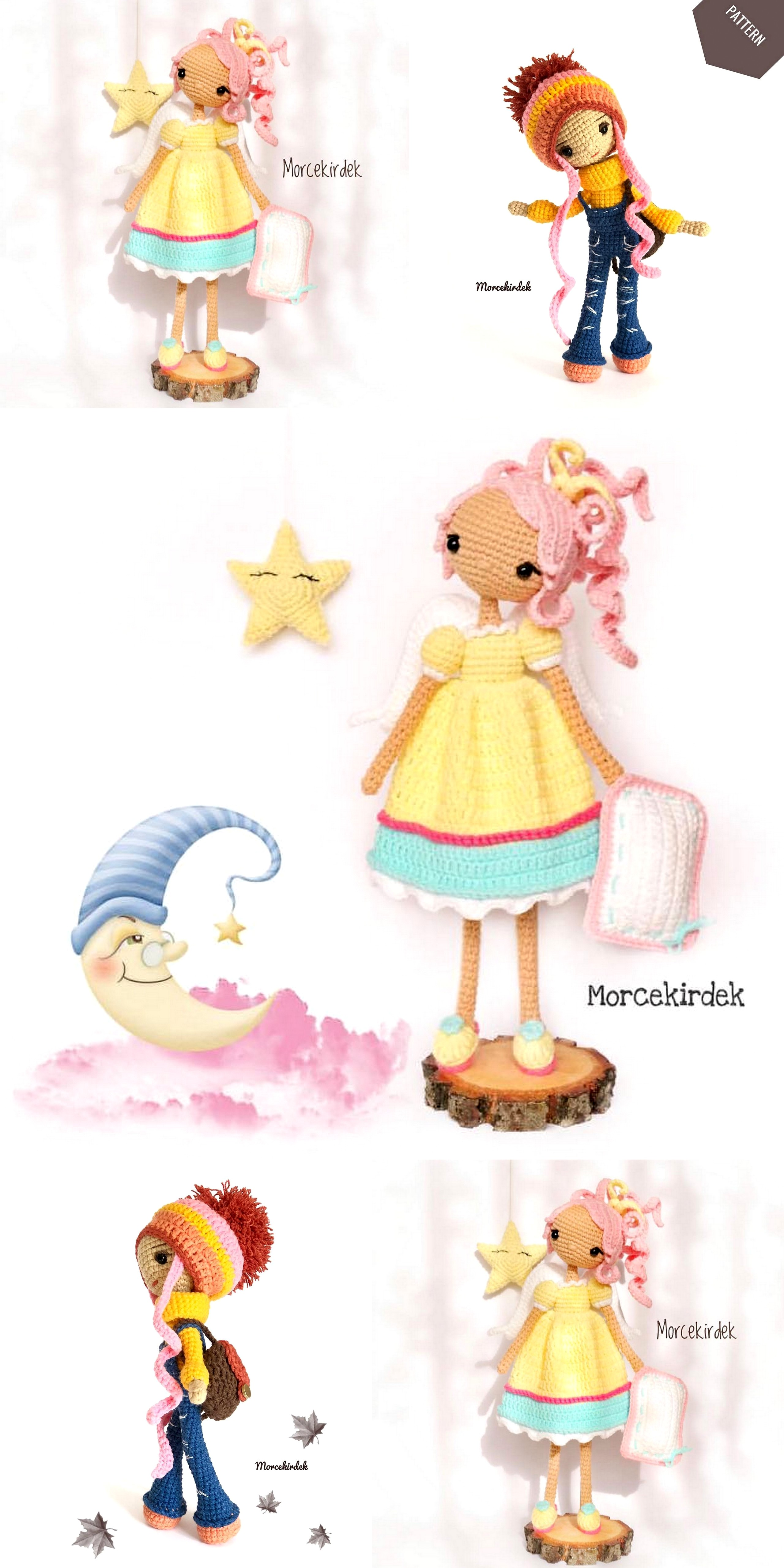 Best Amigurumi Crochet Baby Doll Free Patterns