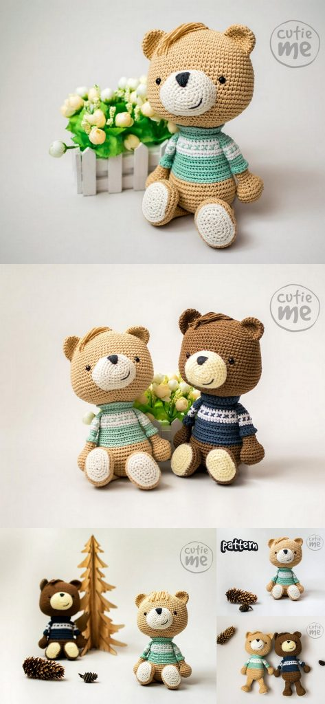 Teddy Bear Crochet Pattern Toys And More | The WHOot | 1024x473