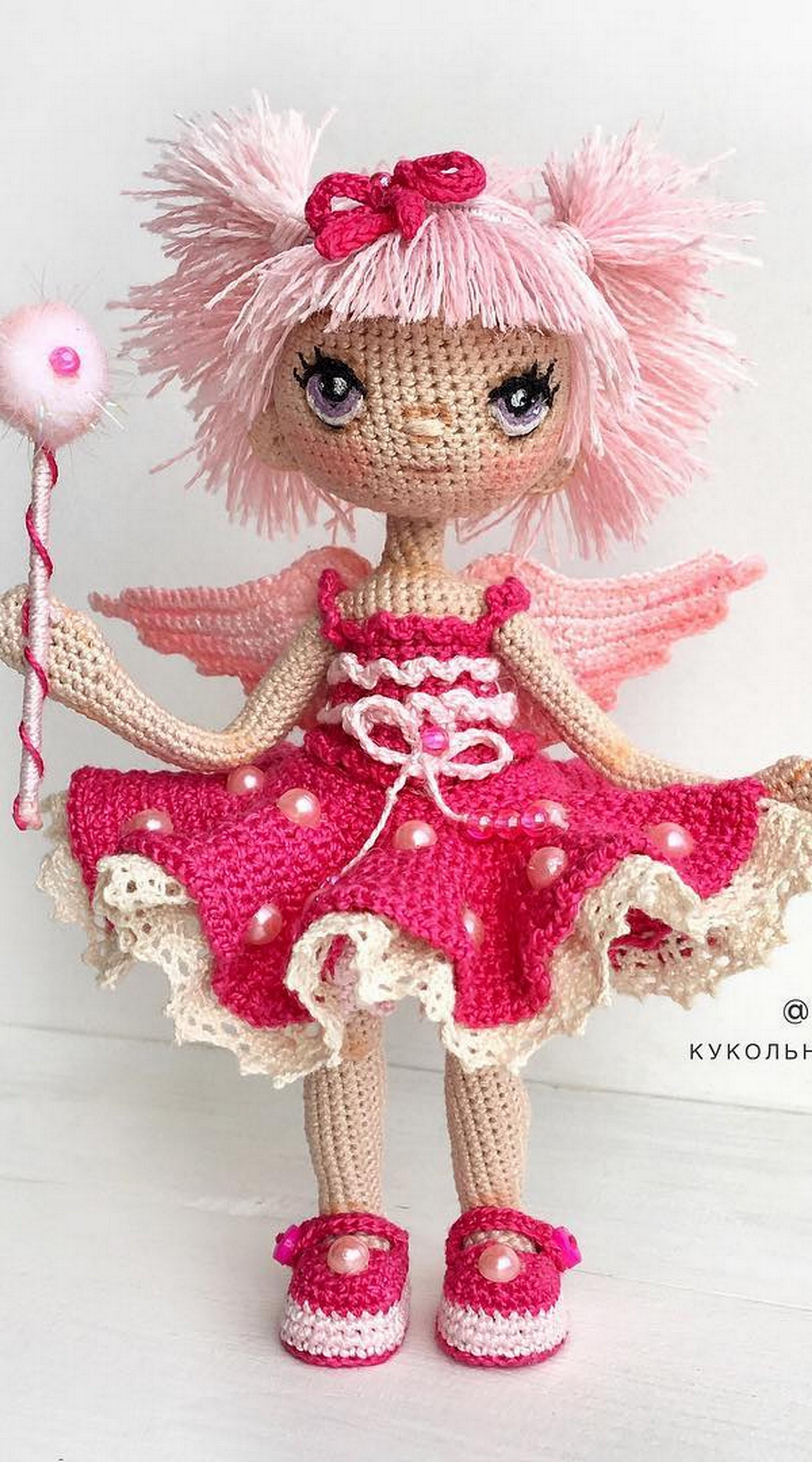 The Most Beautiful Amigurumi Doll Free Crochet Patterns