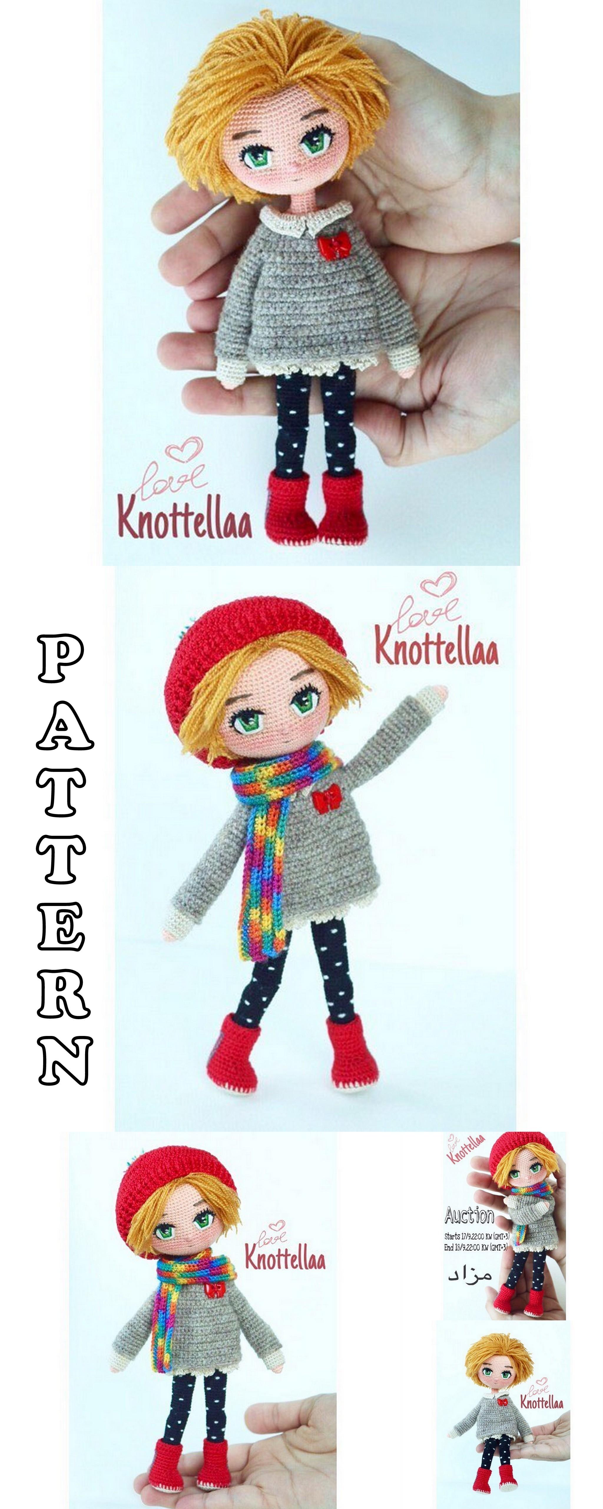 20 Top Best Amigurumi Doll Crochet Patterns