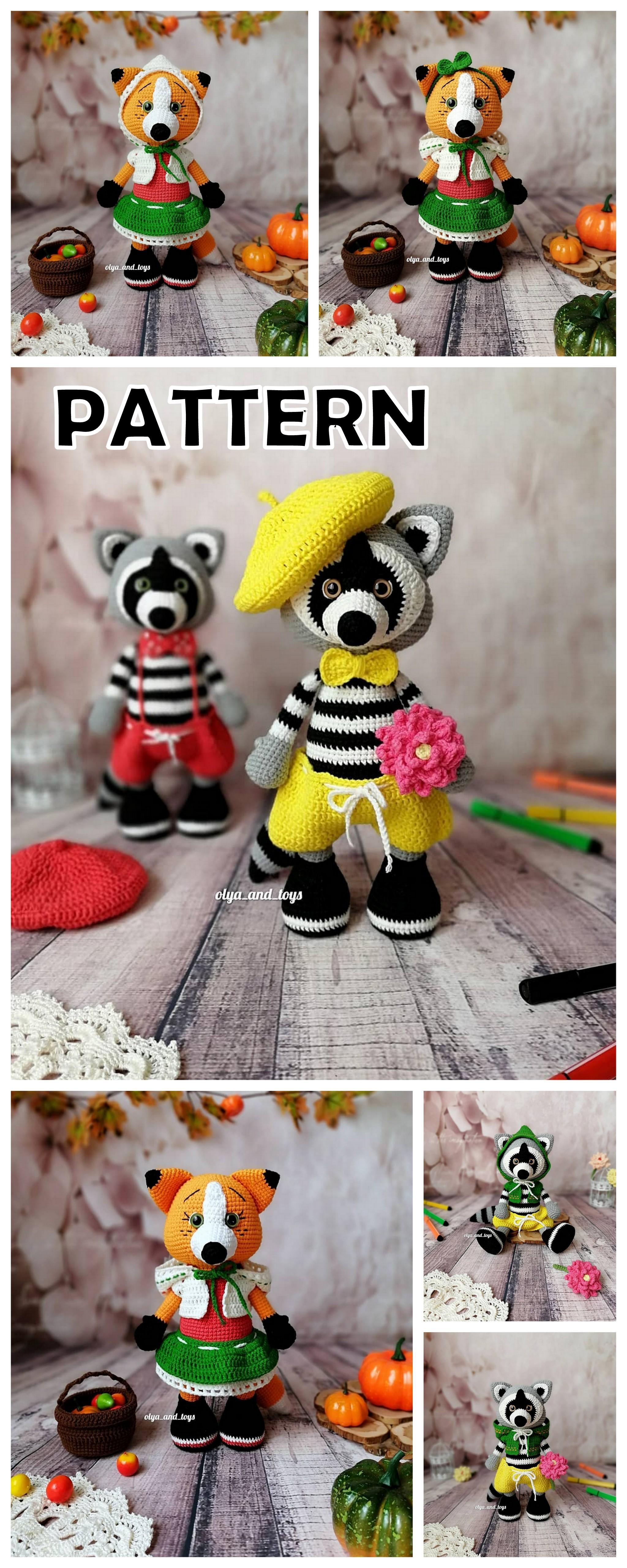 18 Best Amigurumi Crochet Doll And Animal Patterns
