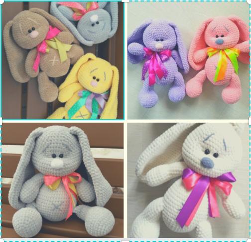 Best Amigurumi Plush Rabbit Free Crochet Patterns