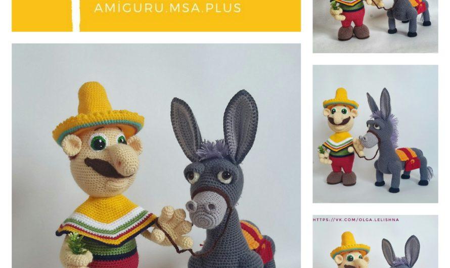 Amigurumi Dinky Donkey Free Crochet Pattern