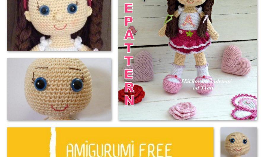 Amigurumi Doll Andy Free Crochet Pattern