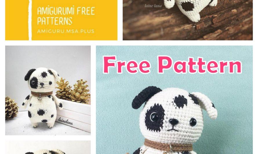 Amigurumi Milky The Dog Free Crochet Pattern